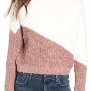 A fun and fuzzy sweater! Very soft!